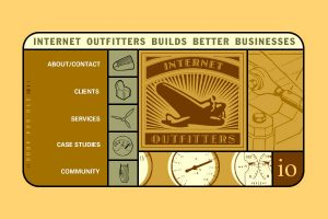 Rich Abronson at Internet Outfitters