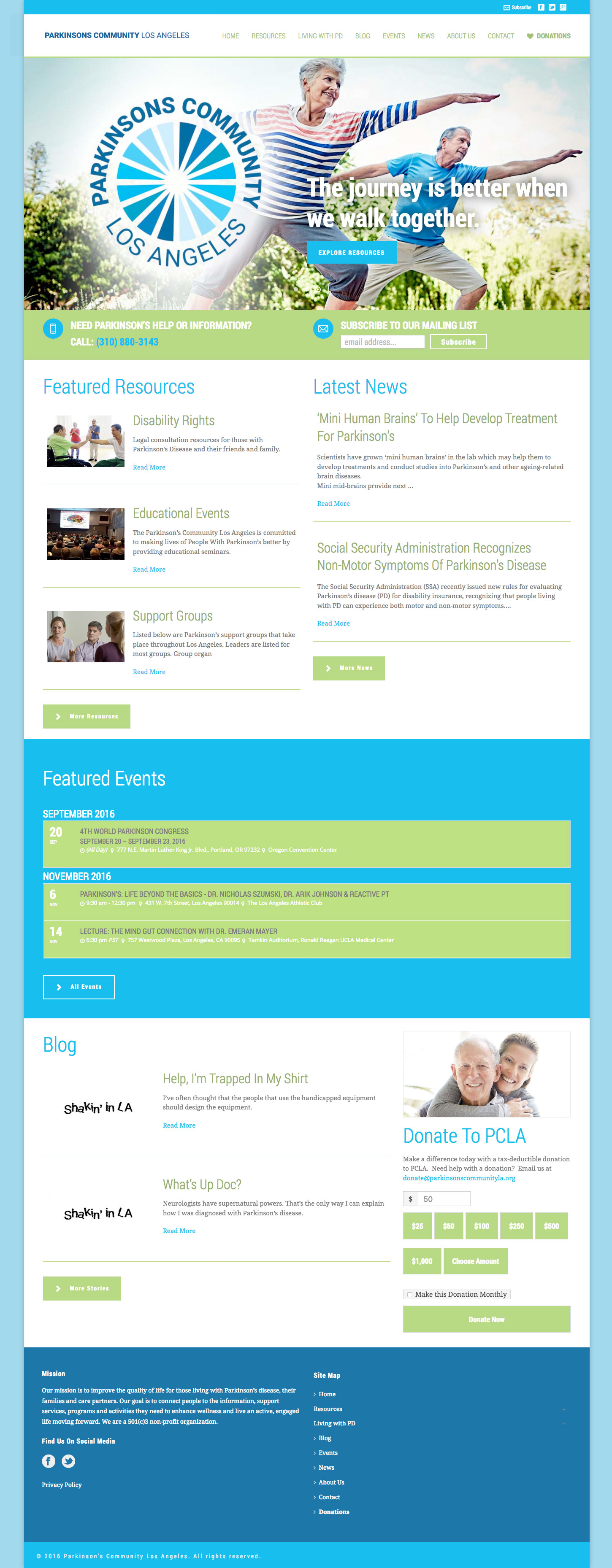 PCLA Home Page