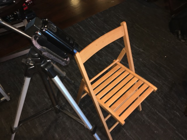 Simple Usability Testing Station: HD camera and a chair